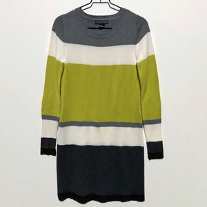 Jessica Howard color block knit sweater dress